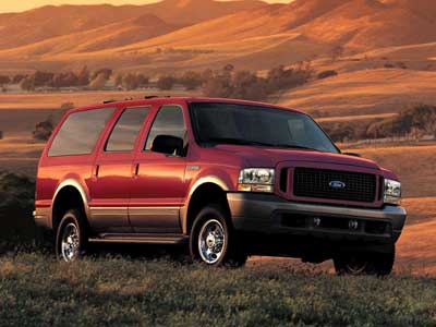 Ford Excursion Wallpaper