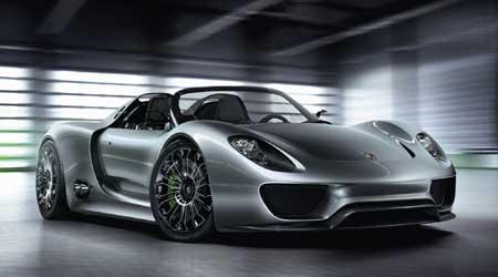 Porsche 918 Spyder Great Sport Cars