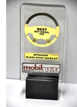"""Mitsubishi Pajero Sport kembali dapat mempertahankan mahkota kebesarannya sebagai """"Best SUV Diesel"""" di Indonesia"""