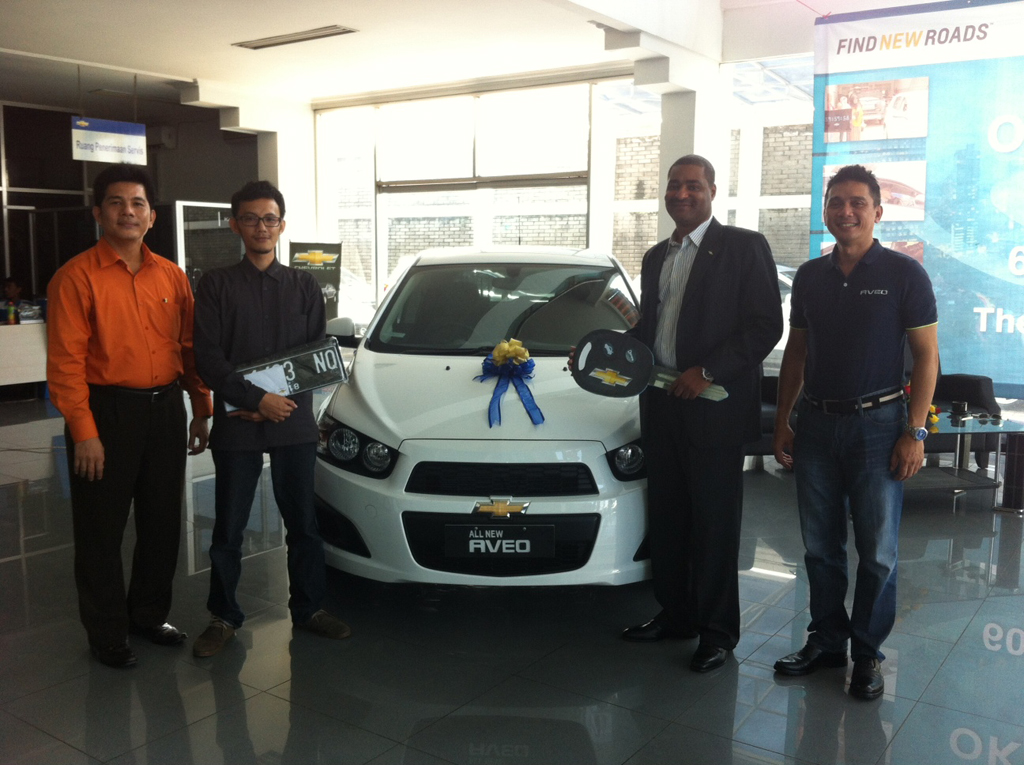 Okky Magrisya Jawara Chevrolet Aveo Come Out And Play