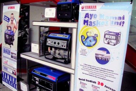 05-06-Maskot Generator Yamaha Ikan Lampu