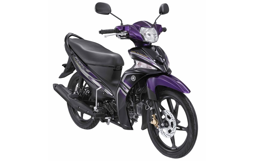 Red V-ixion: Yamaha Force