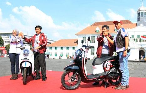 Honda Jajal BeAT, Vario, dan Scoopy Turing Jawa – Lombok