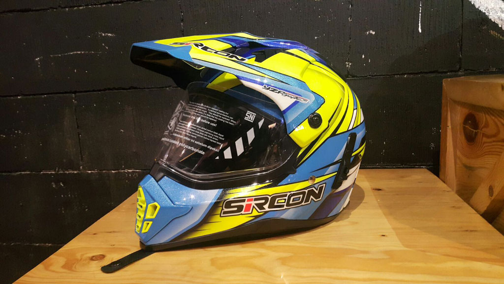 Helm Sircon Dari Cargloss