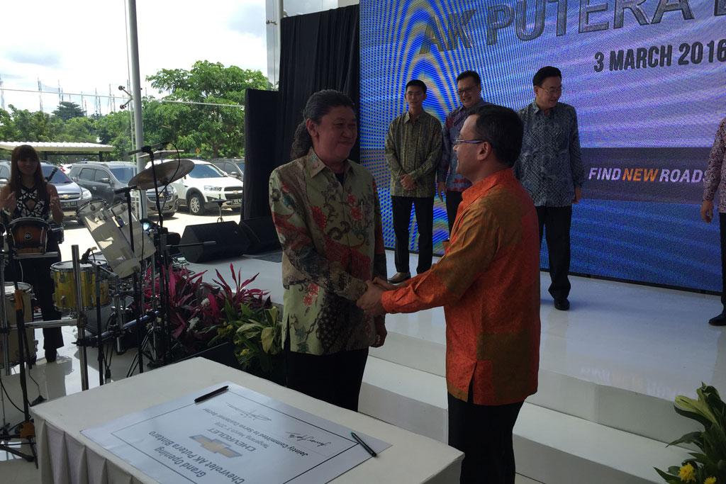 Chevrolet Resmikan Dealer Terbaru Di Bintaro Raju Febrians Weblog